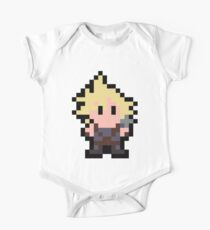 Pixel Cloud Strife One Piece - Short Sleeve