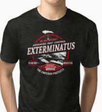 Exterminatus - Advanced pest control Tri-blend T-Shirt