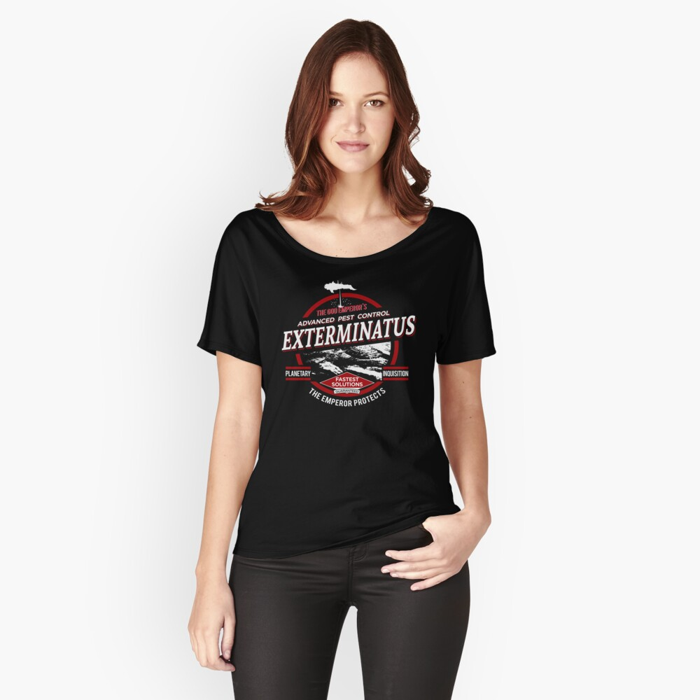 Exterminatus - Advanced pest control Relaxed Fit T-Shirt