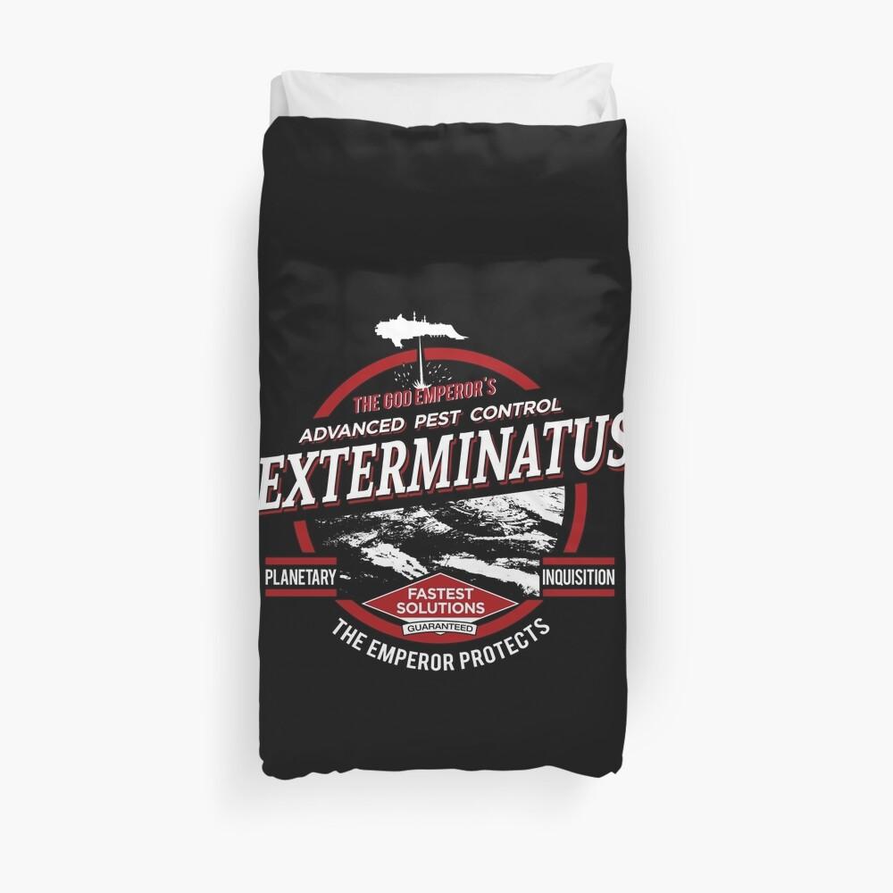 Exterminatus - Advanced pest control Duvet Cover