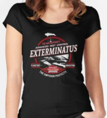 Exterminatus - Advanced pest control - Damaged Women's Fitted Scoop T-Shirt