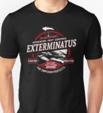 Exterminatus - Advanced pest control - Damaged Unisex T-Shirt