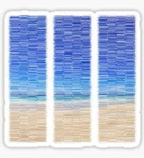 Summertime Blues Sticker