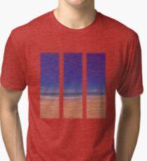 Summertime Blues Tri-blend T-Shirt