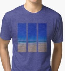 Summertime Blues Tri-blend T-Shirt