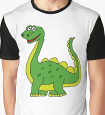Happy Dinosaur  Graphic T-Shirt