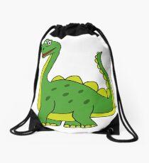 Happy Dinosaur  Drawstring Bag