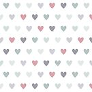 Pastel Hearts  by Annie Webster