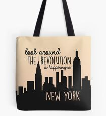 Revolution in NYC Tote Bag