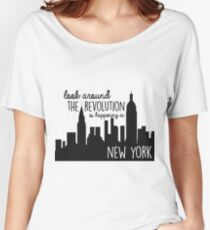 Revolution in NYC Women's Relaxed Fit T-Shirt