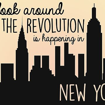 Revolution in NYC by colcas