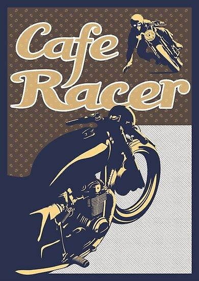 Cafe Racer retro style by SFDesignstudio