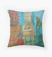 No One Keeps Time Throw Pillow