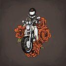 Valentine - Ride into your Heart - Women Who Ride  by Amanda Zito