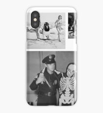 WTF - Threesome penguin bear and cops iPhone Case/Skin