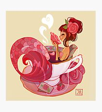 Tea Mermaid Photographic Print