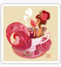Tea Mermaid Sticker