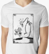 From Above® comic Men's V-Neck T-Shirt