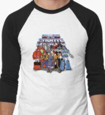 GoBots - Cast -  Logo Men's Baseball ¾ T-Shirt