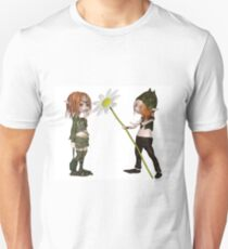 Goblin Valentine's Day Flower T-Shirt