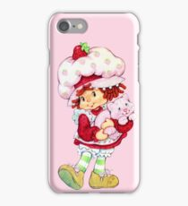 Strawberry Shortcake & Custard iPhone Case/Skin