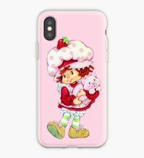 Strawberry Shortcake and Custard iPhone Case