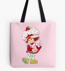 Strawberry Shortcake & Custard Tote Bag