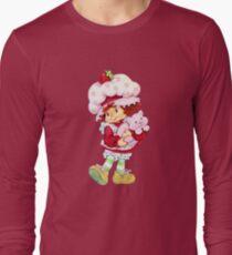 Strawberry Shortcake & Custard Long Sleeve T-Shirt