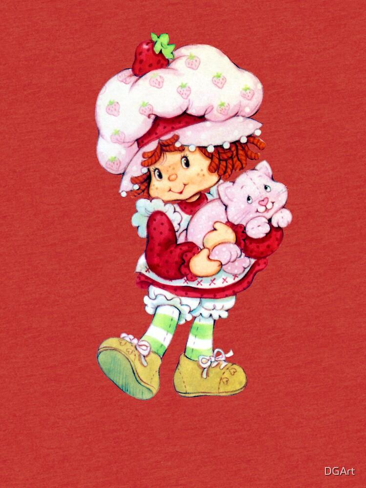Erdbeer Shortcake & Vanillepudding von DGArt