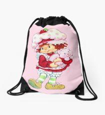 Strawberry Shortcake & Custard Drawstring Bag