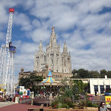 Tibidabo Barcelona by Bsbodyache