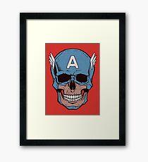 Captain Amerikilled Framed Print