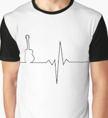 Guitar heart Graphic T-Shirt