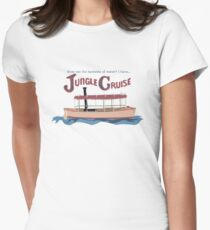 Dschungel-Kreuzfahrt Tailliertes T-Shirt für Frauen