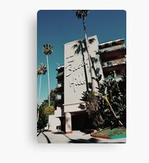 The Beverly Hills Hotel (Los Angeles) Canvas Print