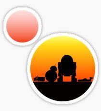 When Two Worlds Collide Sticker