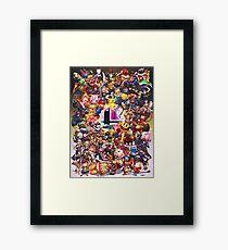 Smash Brothers Framed Print