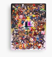Smash Brothers Canvas Print