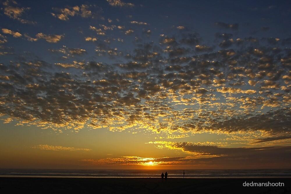 romantic sunset by dedmanshootn