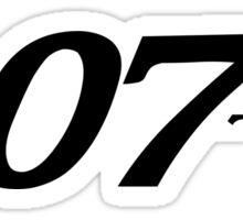 007 Sticker