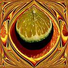 Orange Julep    ( Kitchen Art Series ) by Carla Jensen