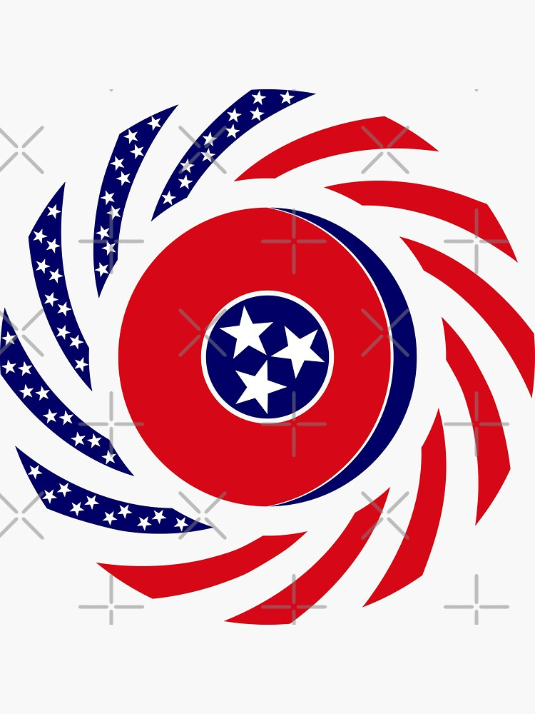 Tennessean Murican Patriot Flag Series by carbonfibreme