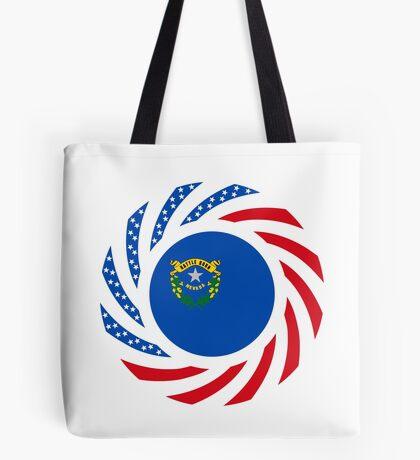 Nevadan Murican Patriot Flag Series Tote Bag