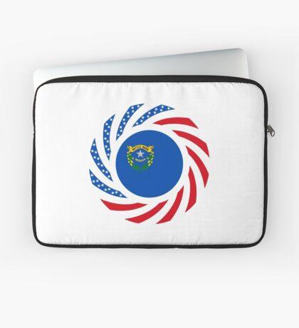 Nevadan Murican Patriot Flag Series Laptop Sleeve