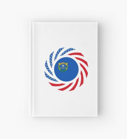 Nevadan Murican Patriot Flag Series Hardcover Journal