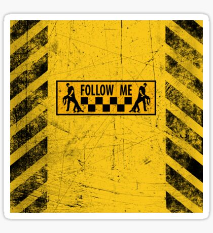 follow me dancer - used look Sticker