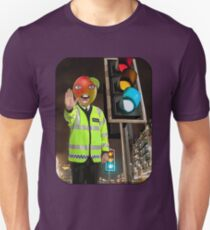 Mango Head Traffic Cop T-Shirt