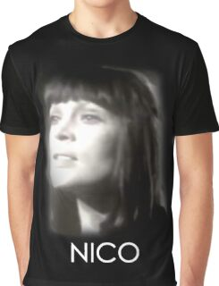 Nico: Femme Fatale Graphic T-Shirt