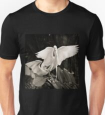 White bird dance Unisex T-Shirt