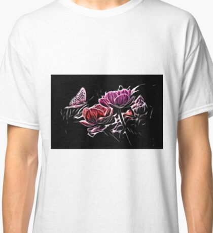 Glow Butterfly Classic T-Shirt